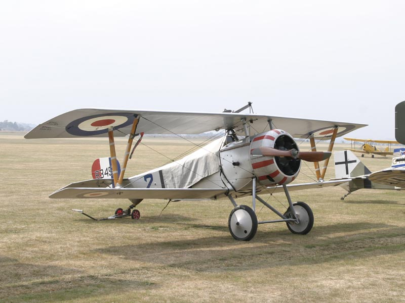 055 Nieuport 17 Scout Replica G-BWMJ